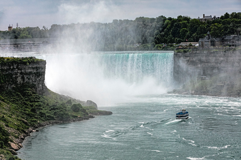 USA; New York State; Niagara Falls; Maid of the Mist