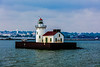 Cleveland; Cleveland Lighthouse; Ohio; Port of Cleveland; USA