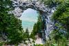 Arch Rock; Mackinac Island; Michigan; USA