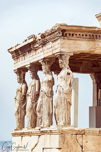 The Caryatid of the Etechtheion