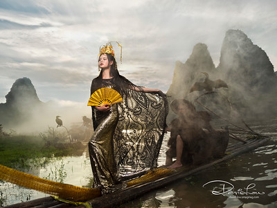 The arrival of eastern Cleopatra