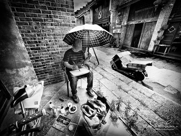 Die hard artist - rain or shine