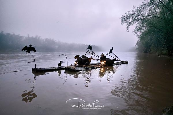 Fishermen at Li River