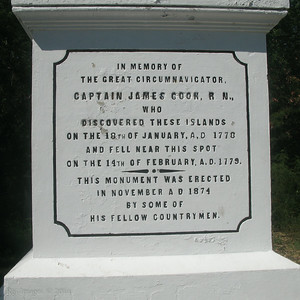 Captain James Cook Monument, Kealakekua Bay