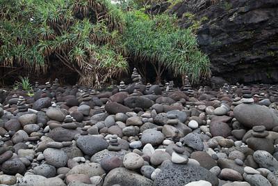 Hanakapiai Stream Monuments  IMG_7654