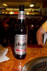 Korean Restaurant Beer IMG_8528