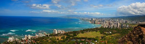 looking at Waikiki