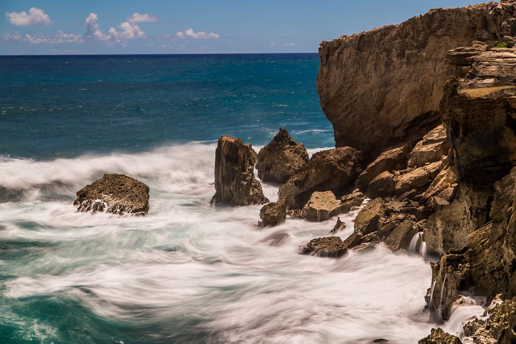 pacifc crashing into poipu coast