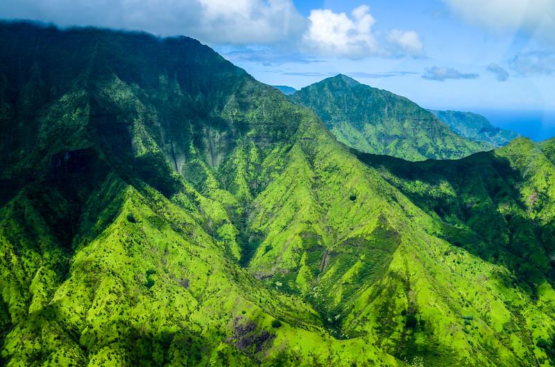Breathtaking Napali Coast Seen from Wings Over Kauai