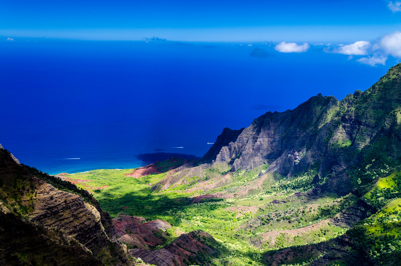 Amazing Vista of the Kalalau Valley Kauai Hawaii