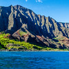 Rugged Coastline of Napali Coast Kauai Hawaii