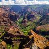 "Waimea Canyon ""Grand Canyon of the Pacific Kauai Hawaii"