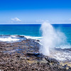 Spouting Horn of Poipu Kauai Hawaii