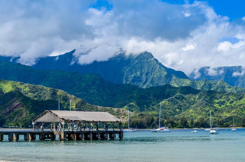 Serene Hanalei Bay Kauai Hawaii