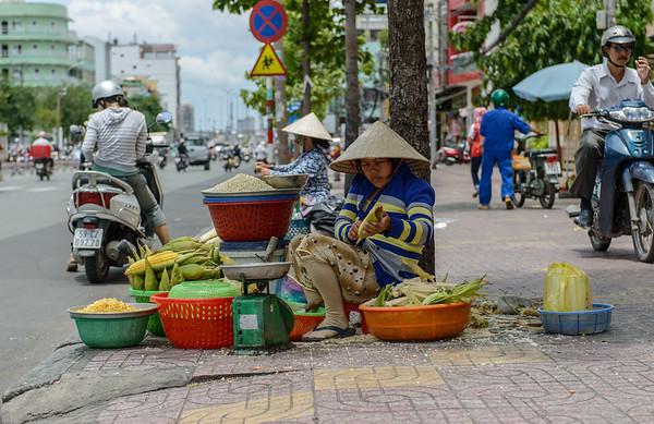 Selling corn