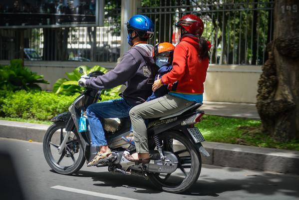 Scooter City, Saigon-Ho Chi Minh