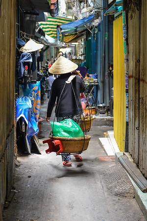 Saigon alleyway