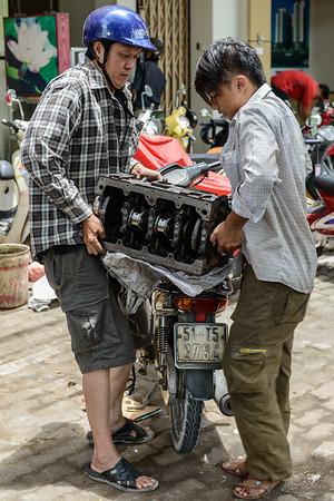 Engine change