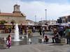 In front of a popular market in La Serena