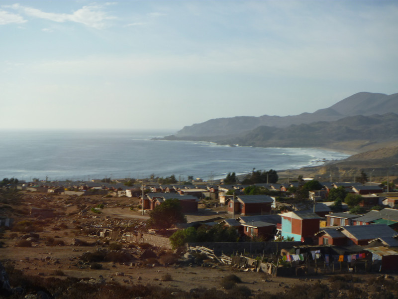 On the way to San Pedro...