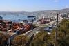 The coastline of Valparaiso and Vina del Mar