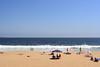 The very popular beach at Vina del Mar