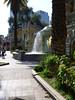 Bateria Hidalgo - Upper level fountain