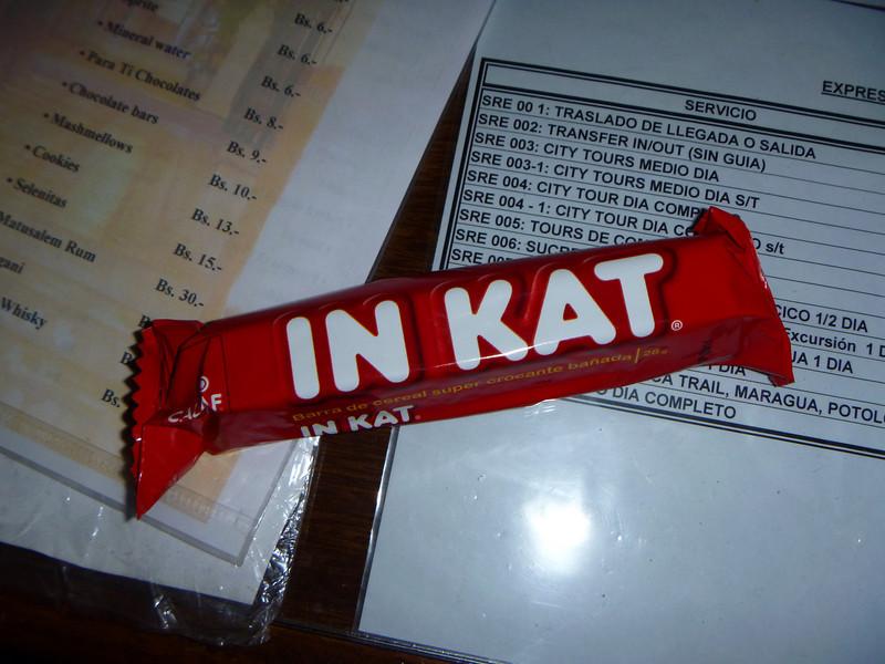 Not like Kit Kat at all..