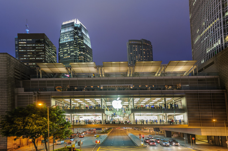 Heaven in paradise, Apple Store in Hong Kong