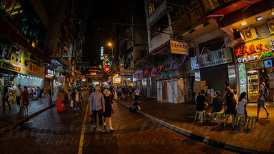 The Streets of Hong Kong
