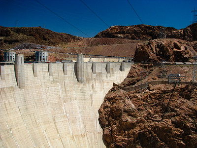 Driving Trip around the Grand Canyon, Arizona - Hoover Dam