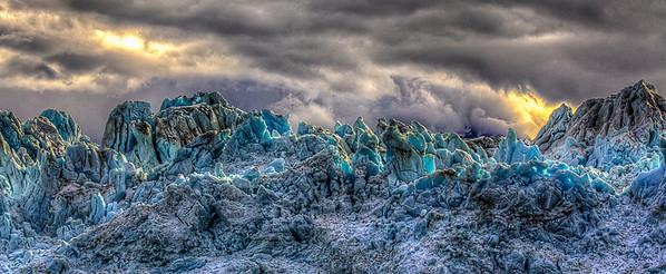 Hubbard Glacier, Alaska, July 26, 2012