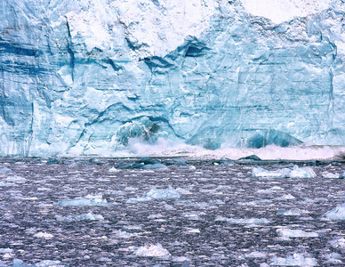 Hubbard Glacier, Alaska, May 16, 2010