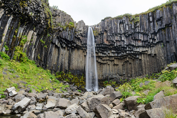 Svartifoss in Skaftafell National Park