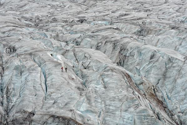 Vatnajokull glacier near Skaftafell