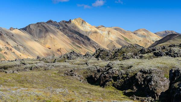 Landmannalaugar mountain-scape
