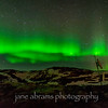 Aurora Borealis Iceland 778<br /> The northern lights are collisions between electrically charged particles from the sun and the earth's atmosphere.