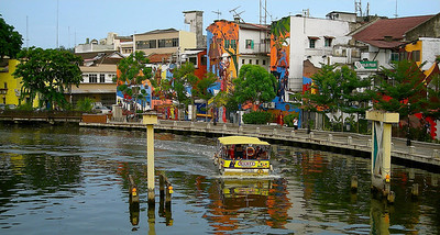 Melaka - also called Malacca.  A former Portuguese colonial port city in south western Malaysia