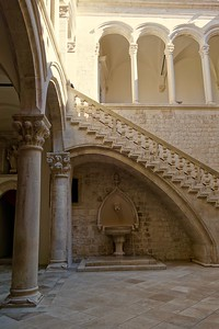 in the Rector's Palace, Dubrovnik