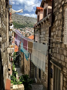 laundry in Dubrovnik