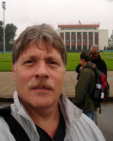 another arms-length self-pic, in Hanoi