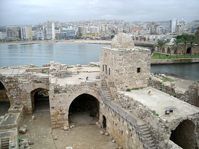 the Sea Castle in Sidon
