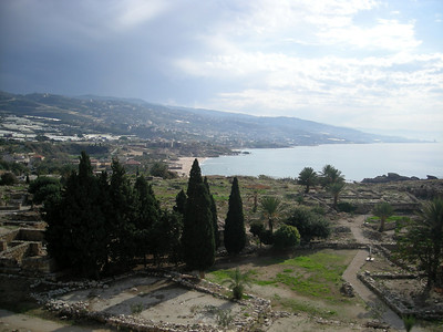 view in Byblos (Jbail) to the north of Beirut