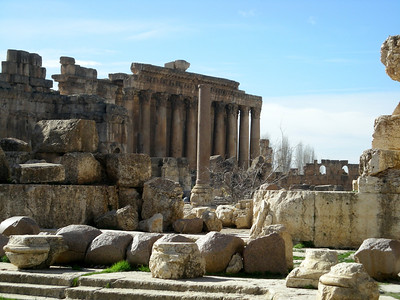 Baalbek, a World Heritage site, was known as Heliopolis (City of the Sun) to the Romans.  It was a major worship site for their god Jupiter.