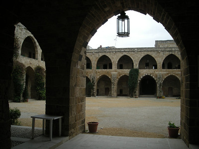 the 17th century Khan al-Franj in Sidon