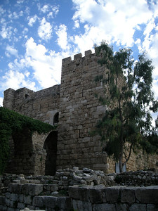 12th century Crusader Castle at Byblos