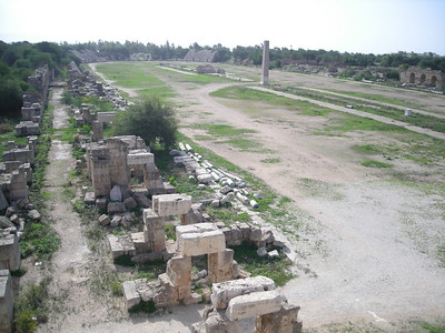 the 2nd century Roman hippodrome at Tyre