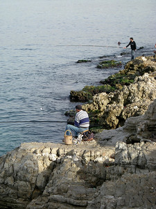 fishermen in Beirut