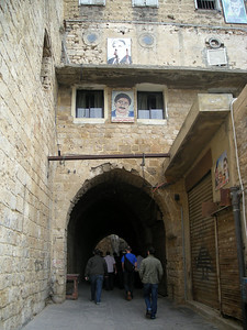 on a walk through the alleyways of the old city in Sidon dating back to the Middle Ages