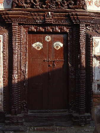 Kathmandu door